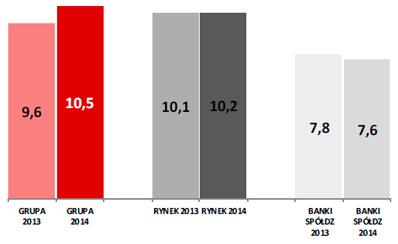 ROE netto (w%)